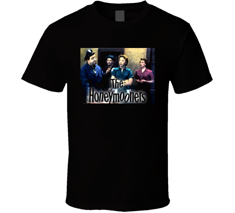 The Honeymooners Classic TV Show T Shirt