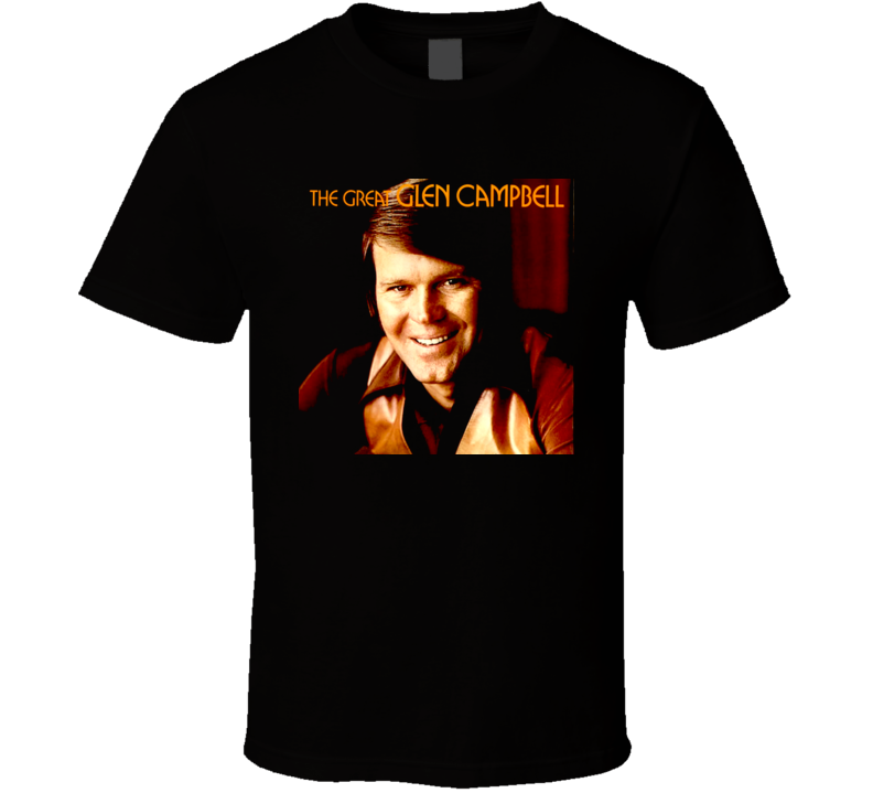 Country Rock Music Legend 70s Glen Campbell Rhine Stone Cowboy T Shirt
