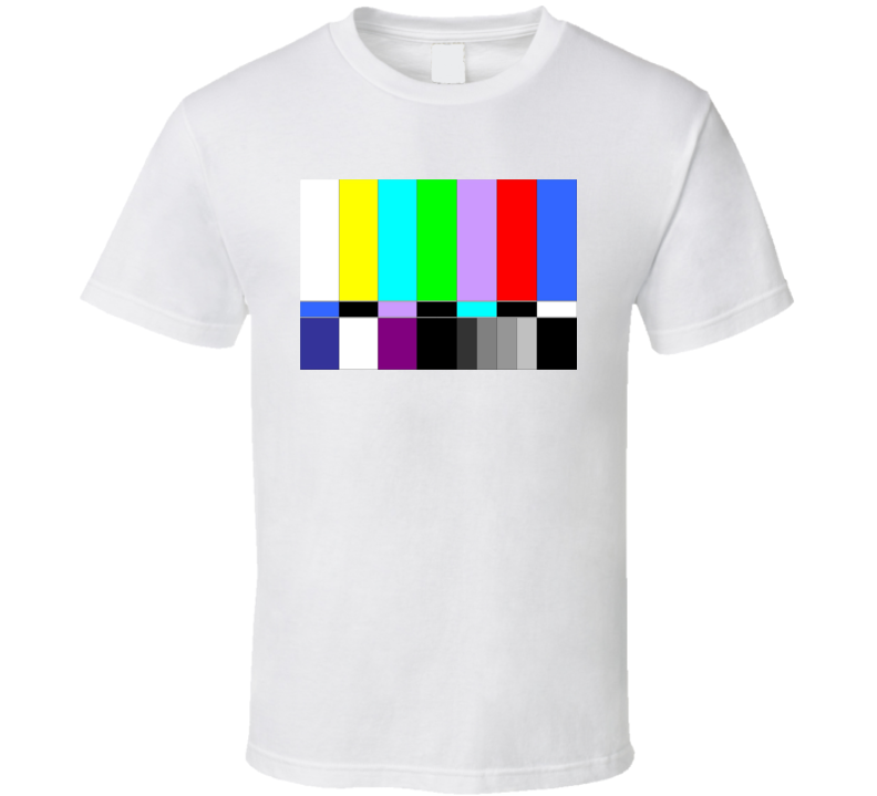 Sheldon Cooper Tv Coloured Bars T Shirt