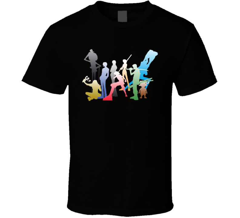 One Piece Anime Manga Characters T Shirt