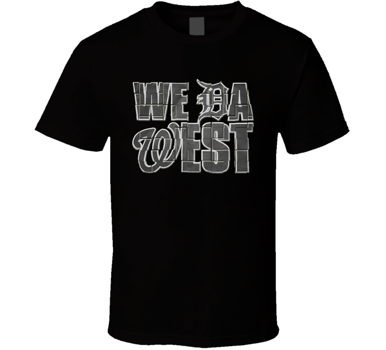 We Da West Snoop Hip Hop T Shirt