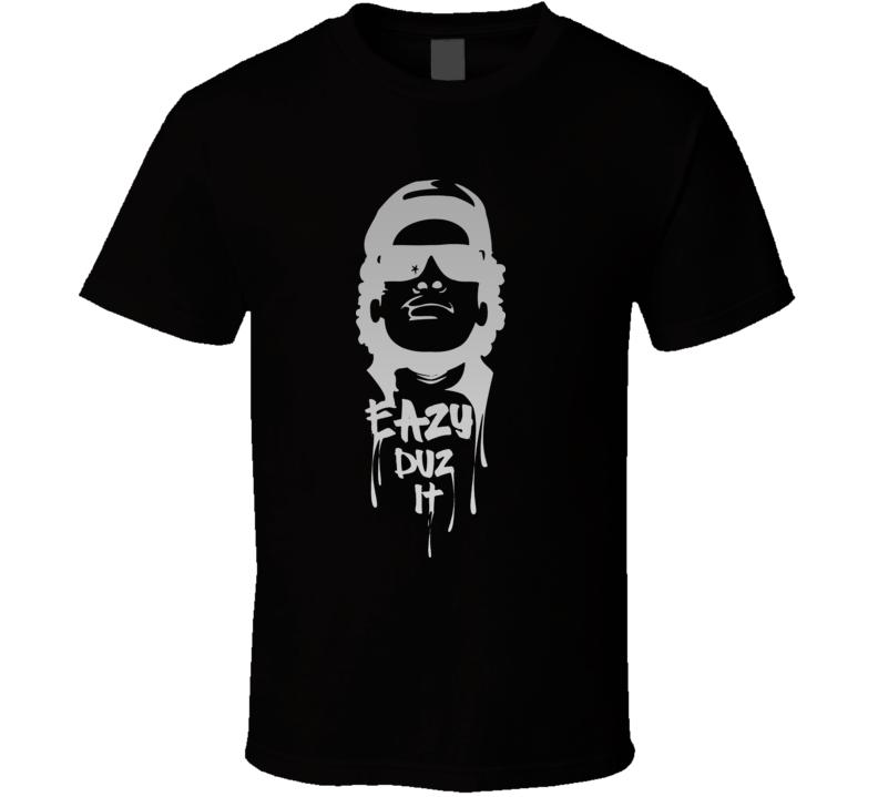 Eazy-E Eazy Duz It Rap West Coast T Shirt