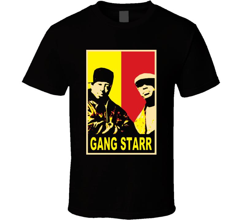 Hip Hop Classics Gang Starr Rip T Shirt