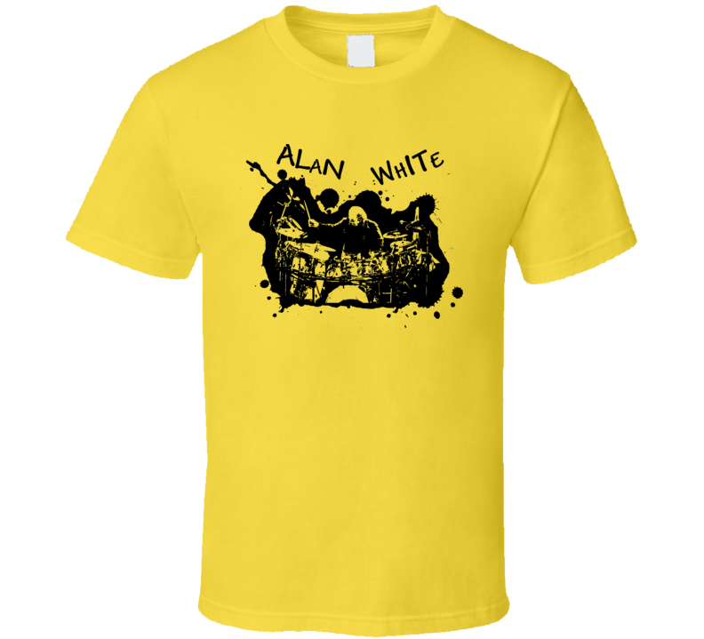 Alan White Rock Drummer Music T Shirt