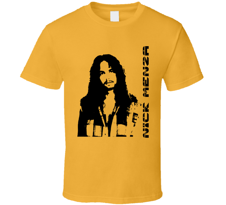 Nick Menza Rock Drummer Music T Shirt