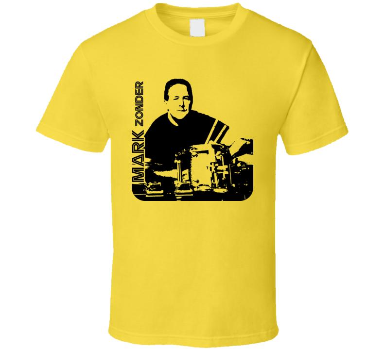 Mark Zonder Rock Drummer Music T Shirt