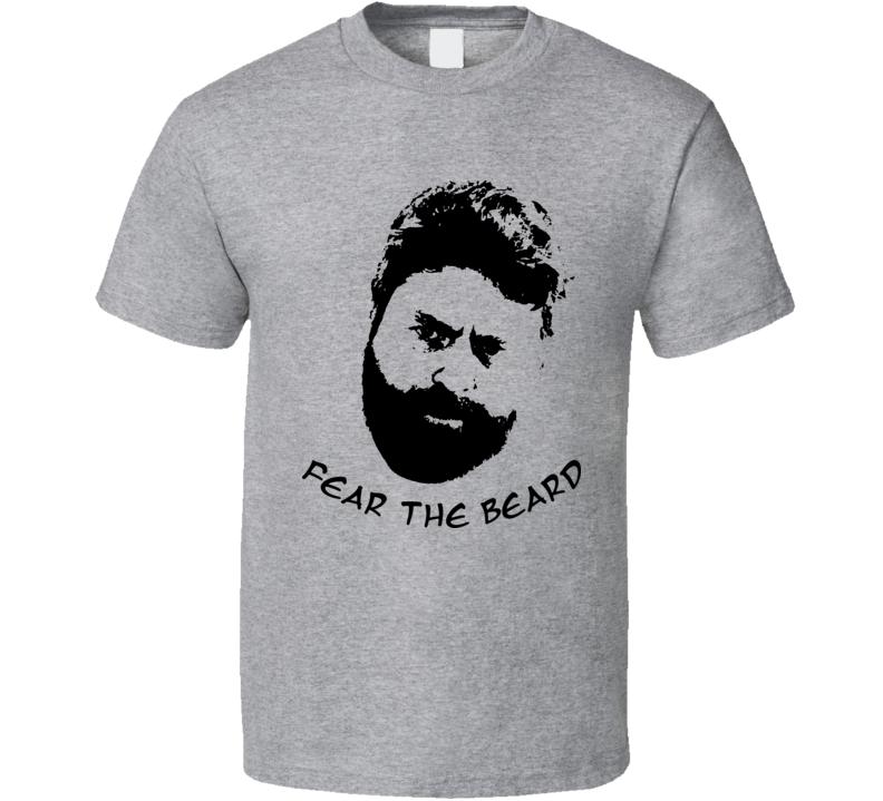 Bored To Death Fear The Beard T Shirt