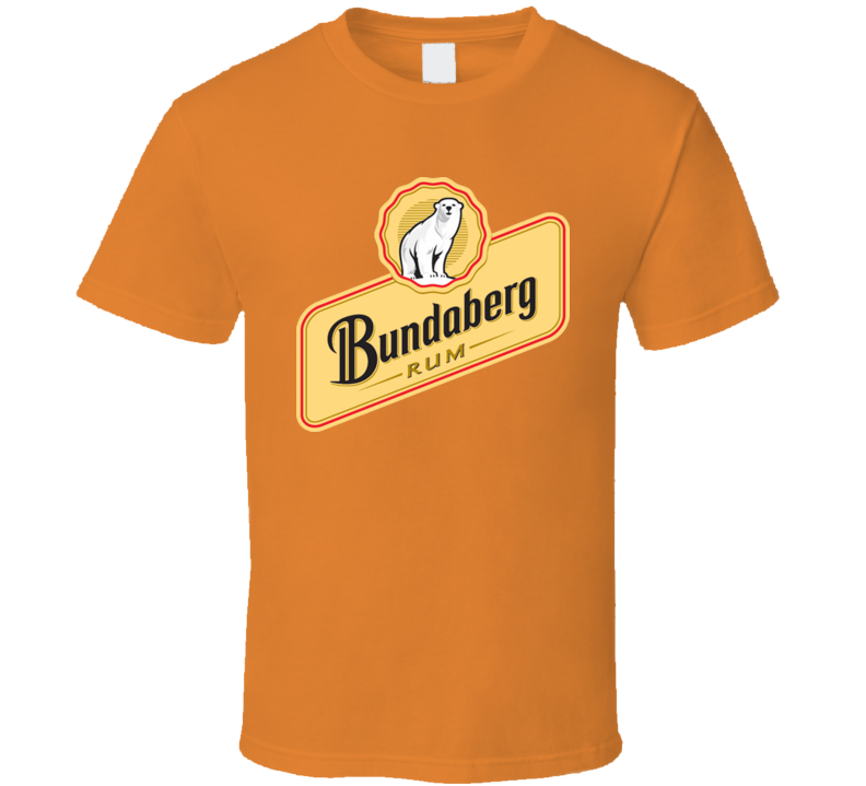 Bundaberg Rum Rare Alcohol Bear T Shirt