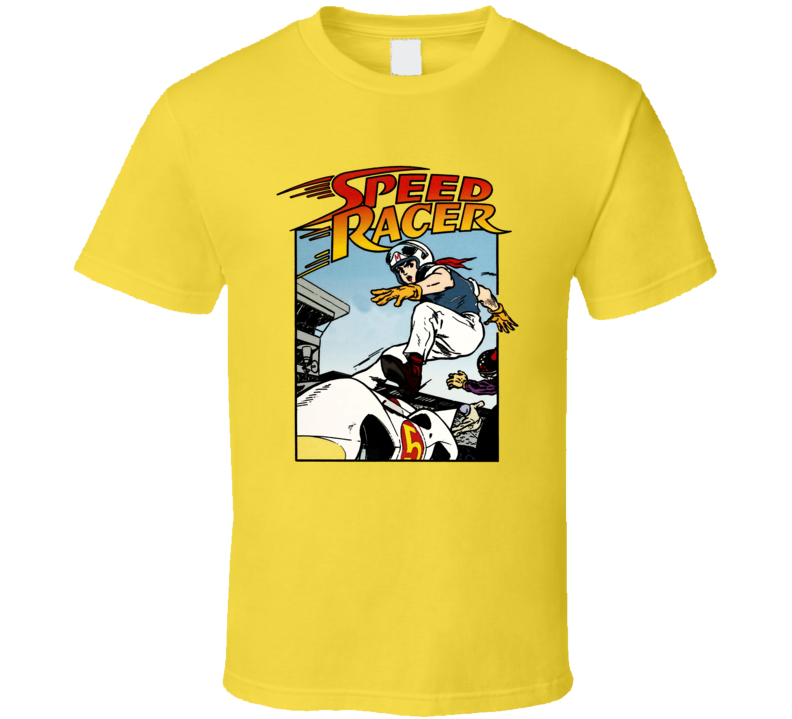 Speed Racer Anime T Shirt