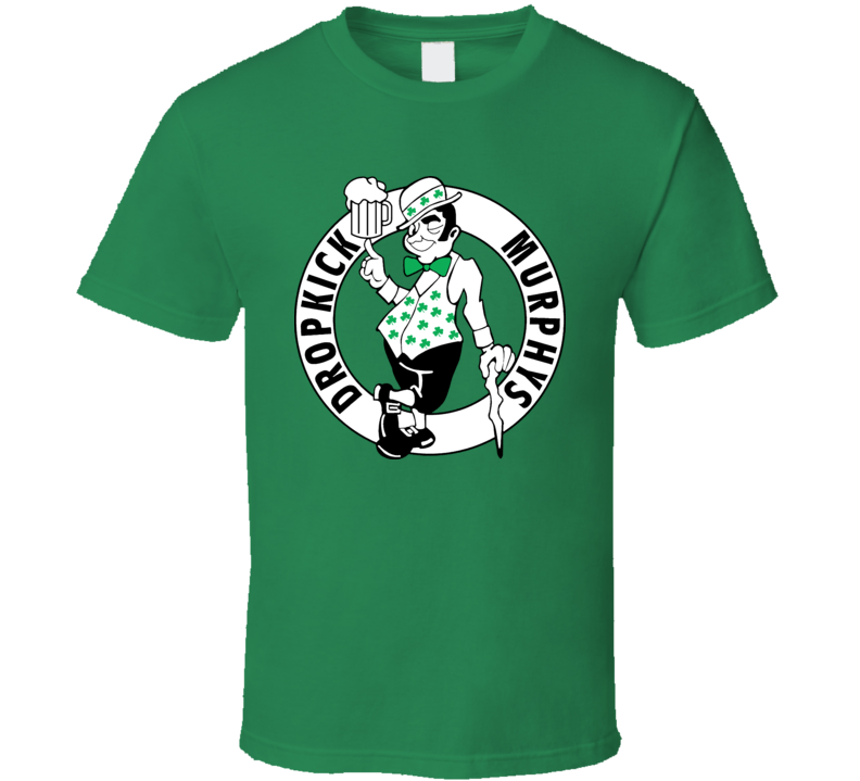 Dropkick Murphy\'s Celtic Vintage Punk Music T Shirt