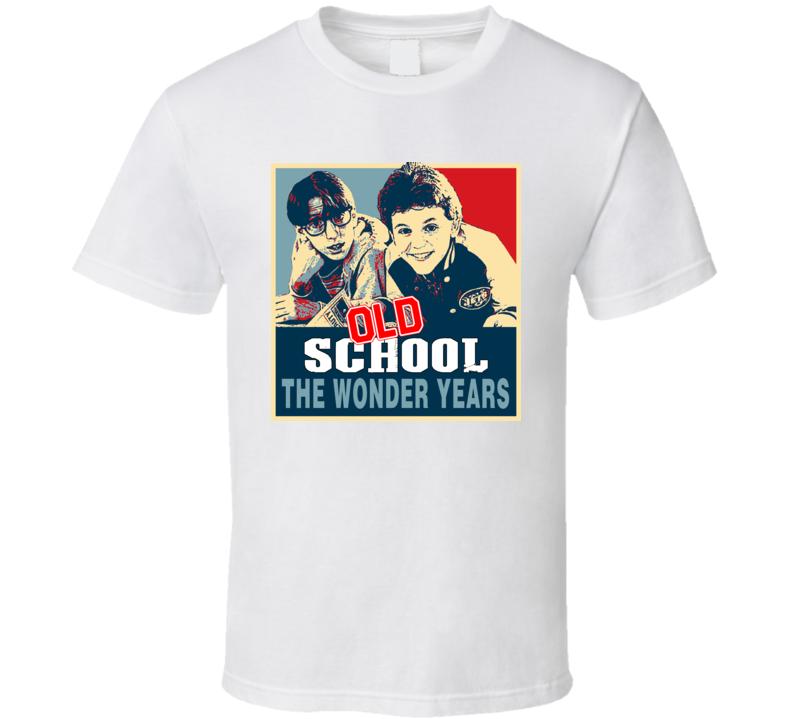 Old School Vintage Hope The Wonder Years T Shirt