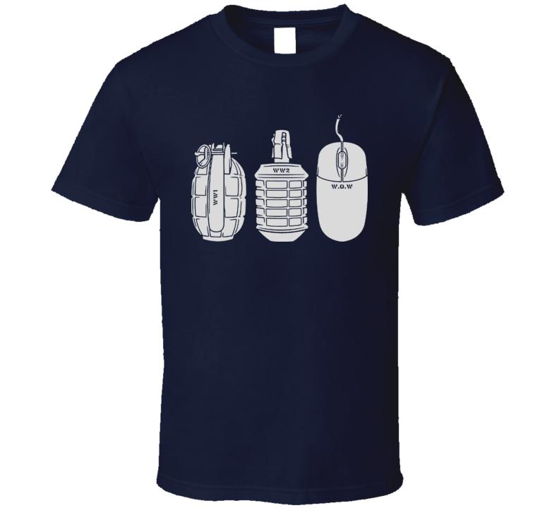 The Evolution Of War T Shirt