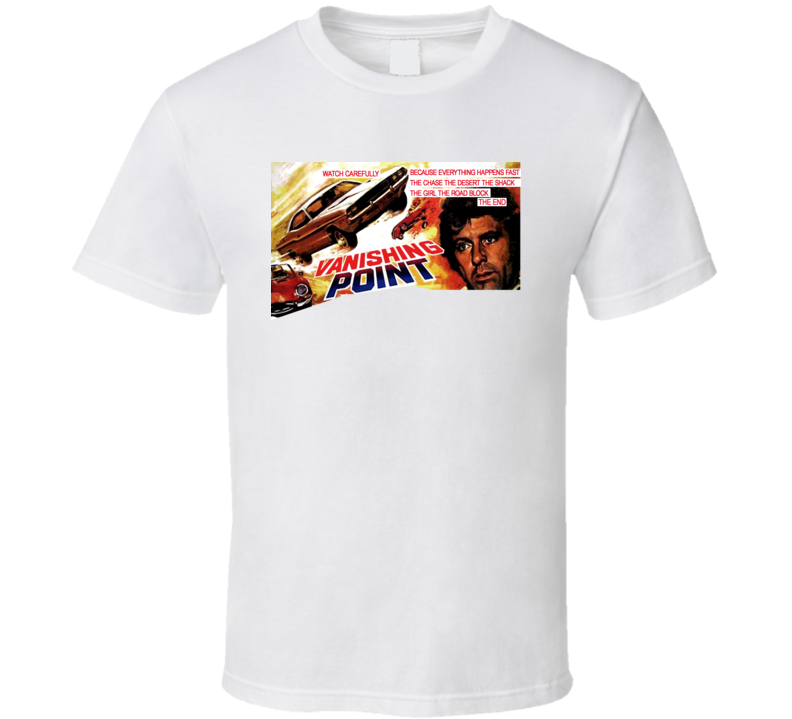 Vanishing Point Movie Poster T Shirt