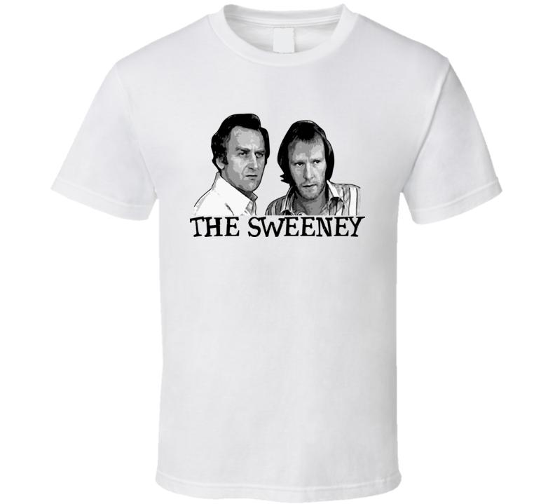 The Sweeney Cop Show 1970s T Shirt