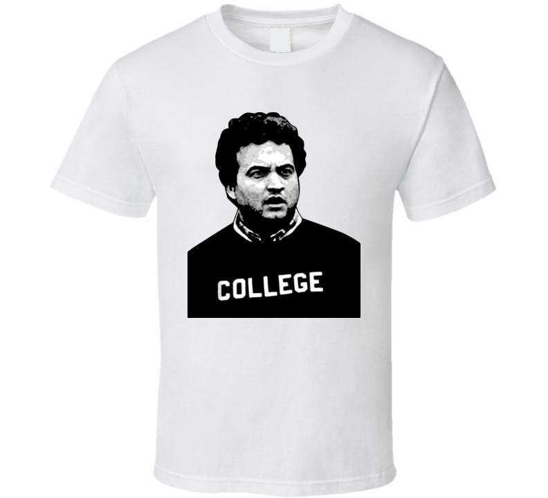 John Belushi College T Shirt