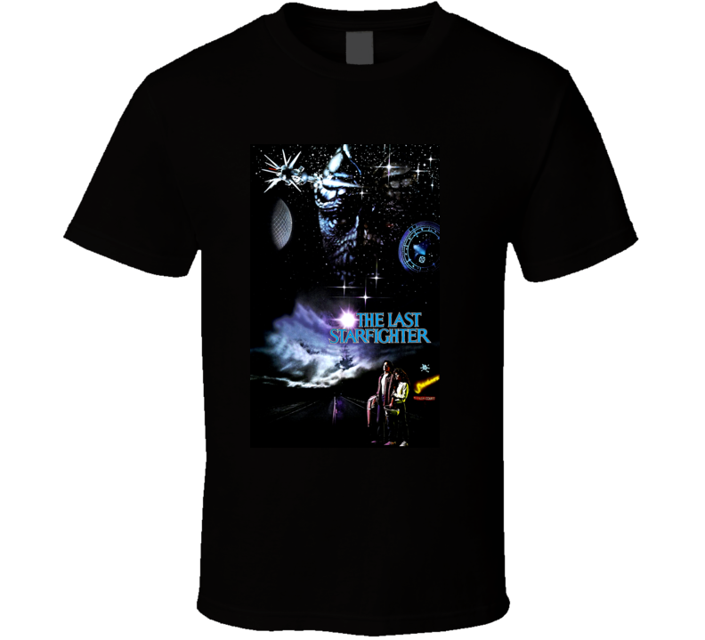 The Last Starfighter 80s Sci Fi Movie Poster T Shirt