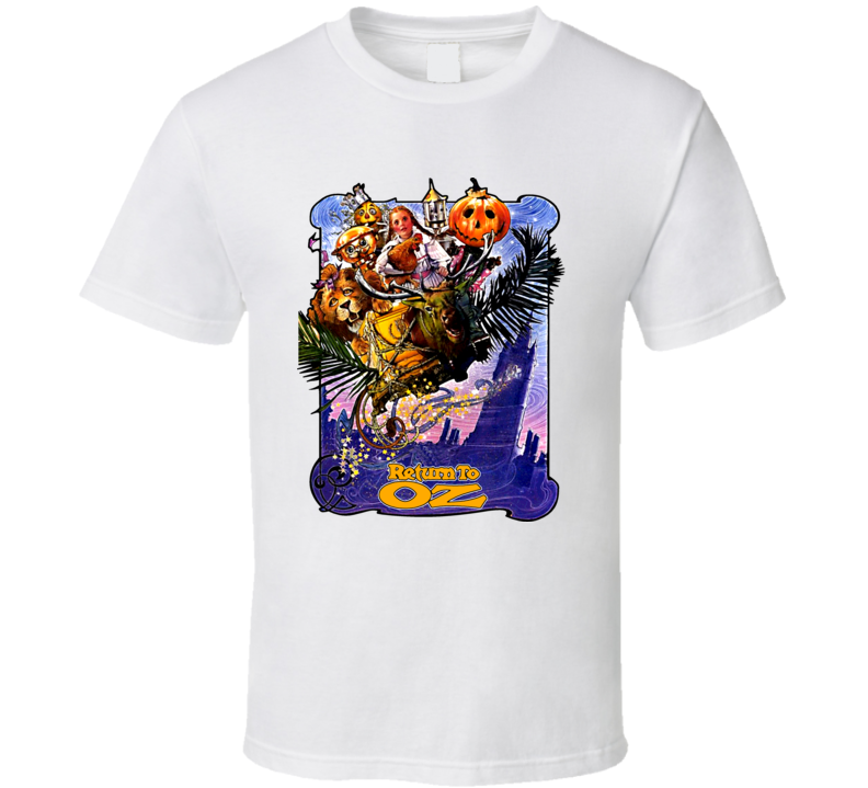 Return To Oz Movie Poster T Shirt