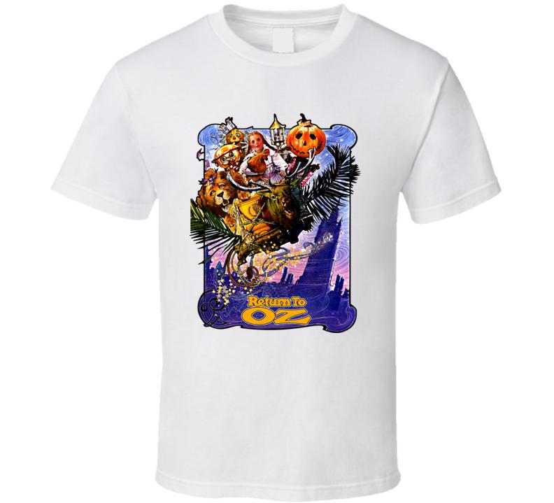 Return To Oz Movie Poster T Shirt