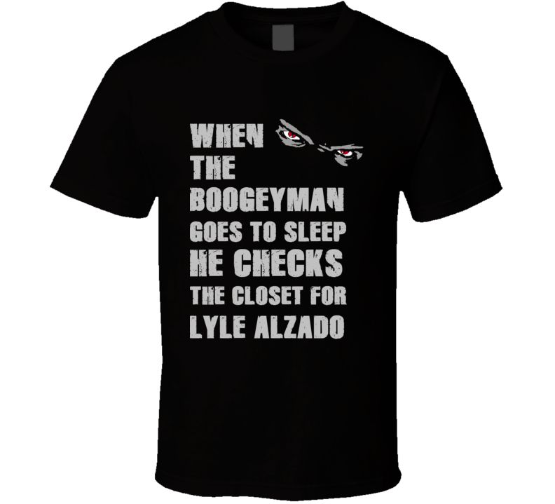 Lyle Alzado Boogeyman Basketball Hockey Baseball Football T Shirt