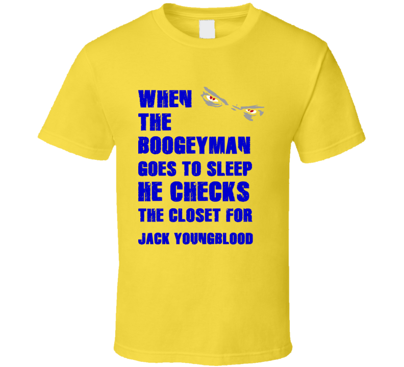 Jack Youngblood California Boogeyman Basketball Hockey Baseball Football T Shirt