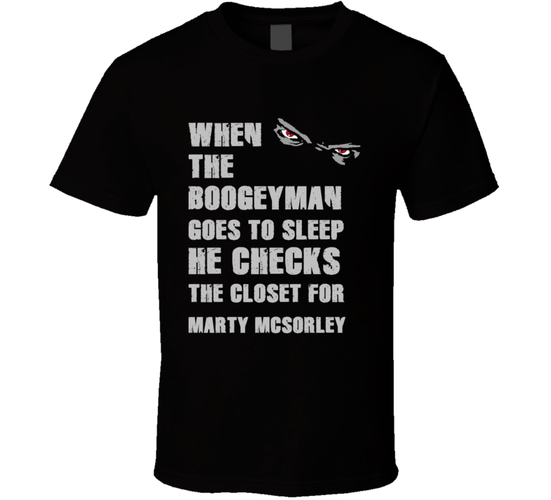 Marty McSorley Boogeyman Basketball Hockey Baseball Football T Shirt