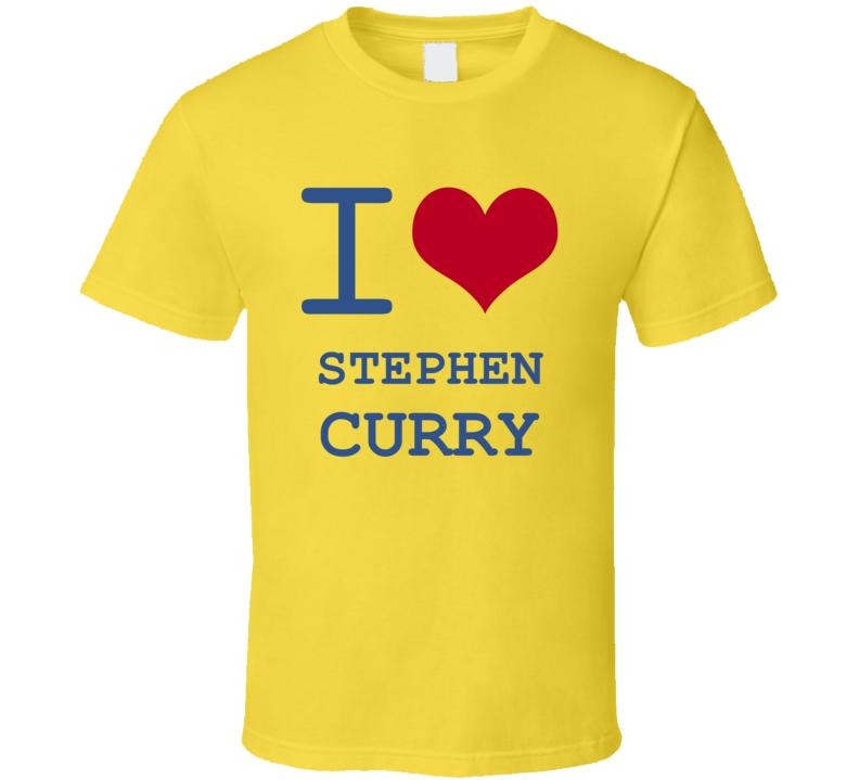 Stephen Curry California I Love Heart Basketball Hockey Baseball Football T Shirt