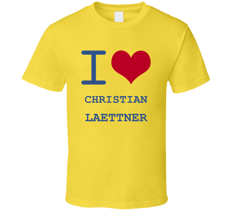 Christian Laettner California I Love Heart Basketball Hockey Baseball Football T Shirt