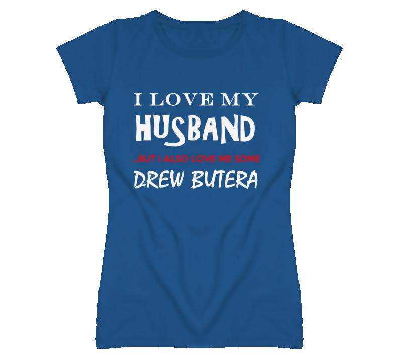 Drew Butera California I Love Me Some Basketball Hockey Baseball Football T Shirt