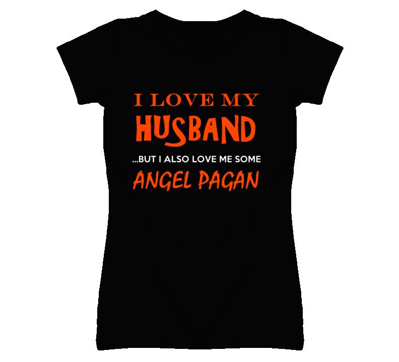 Angel Pagan California Love Me Some Basketball Hockey Baseball Football T Shirt