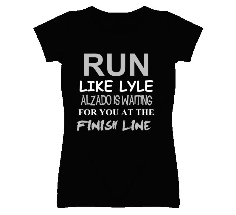 Lyle Alzado Run Love Basketball Hockey Baseball Football T Shirt