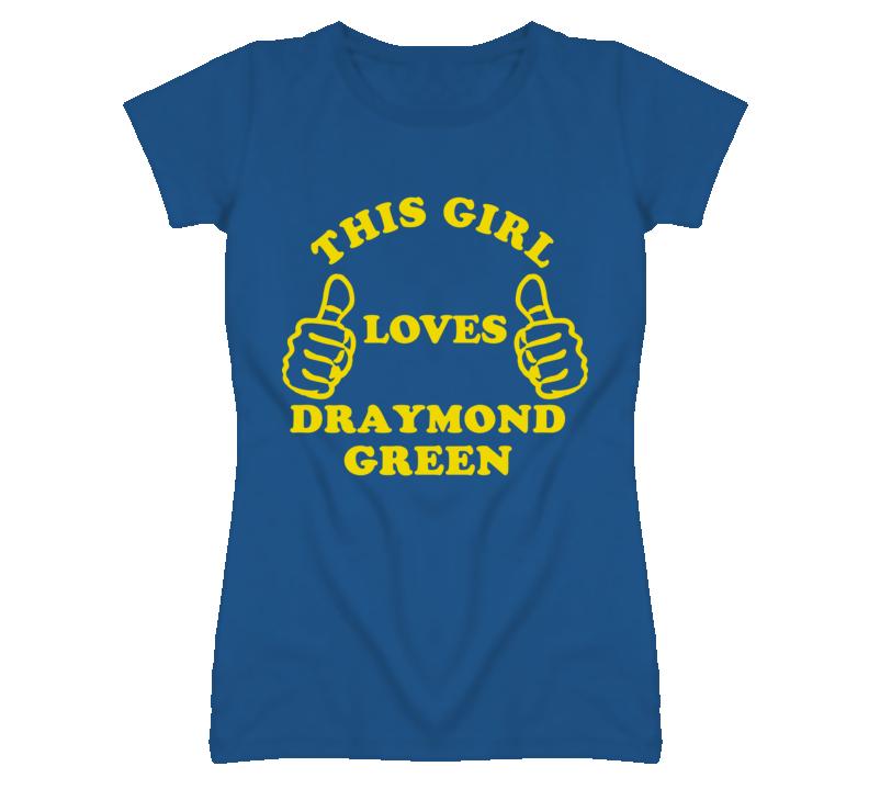 Draymond Green This Girl Loves Basketball Hockey Baseball Football T Shirt