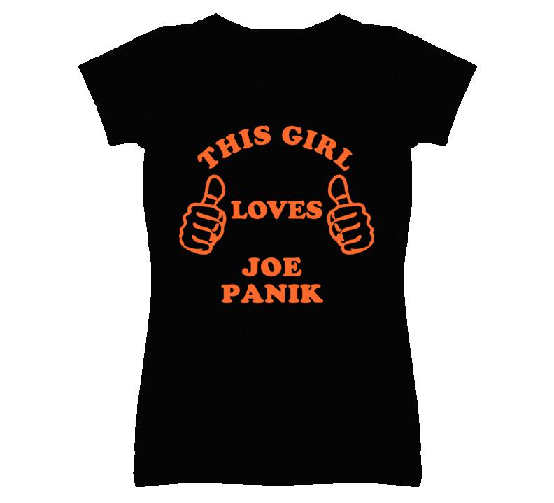 Joe Panik This Girl Loves Basketball Hockey Baseball Football T Shirt