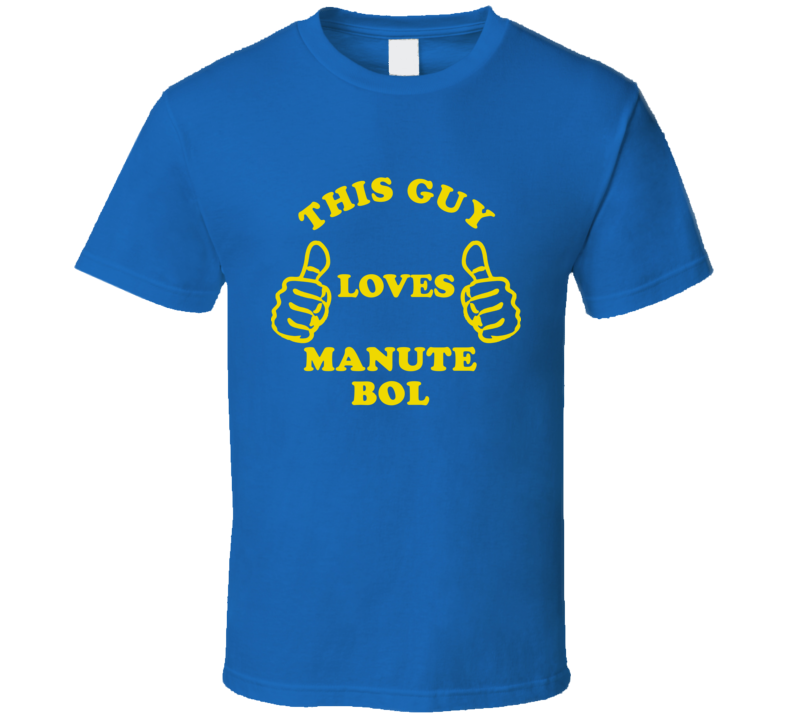 Manute Bol This Guy Loves Basketball Hockey Baseball Football T Shirt