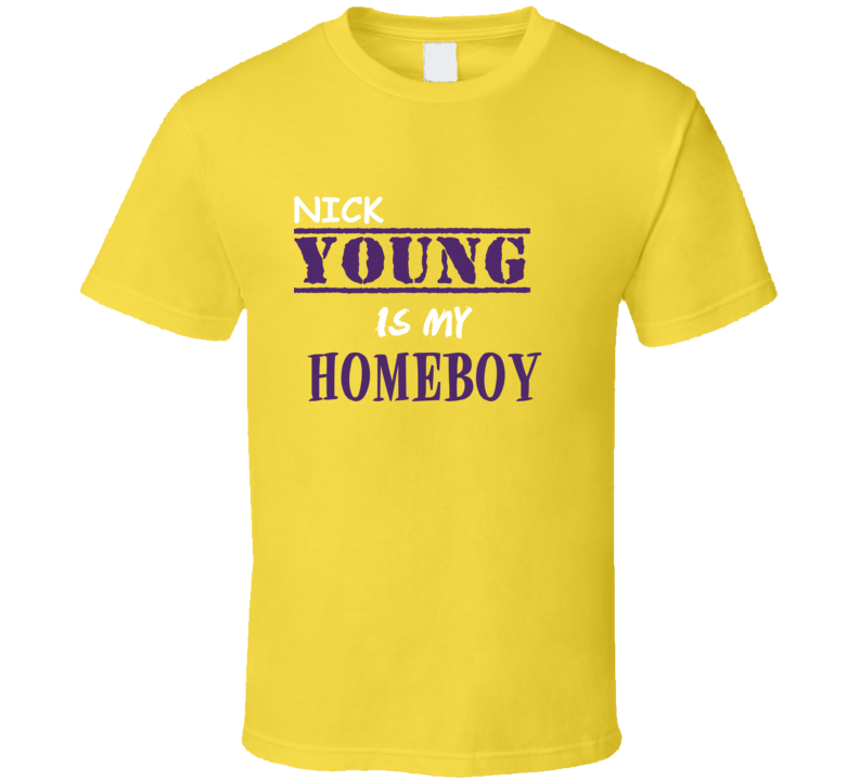 Nick Young Homeboy Basketball Hockey Baseball Football T Shirt
