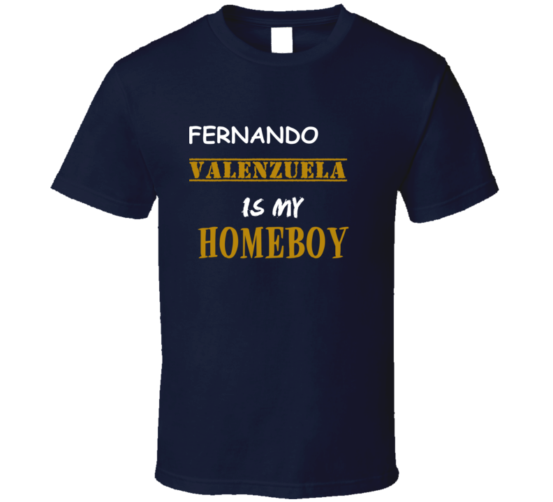 Fernando Valenzuela Homeboy Basketball Hockey Baseball Football T Shirt