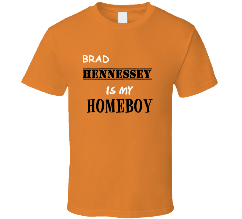 Brad Hennessey Homeboy Basketball Hockey Baseball Football T Shirt