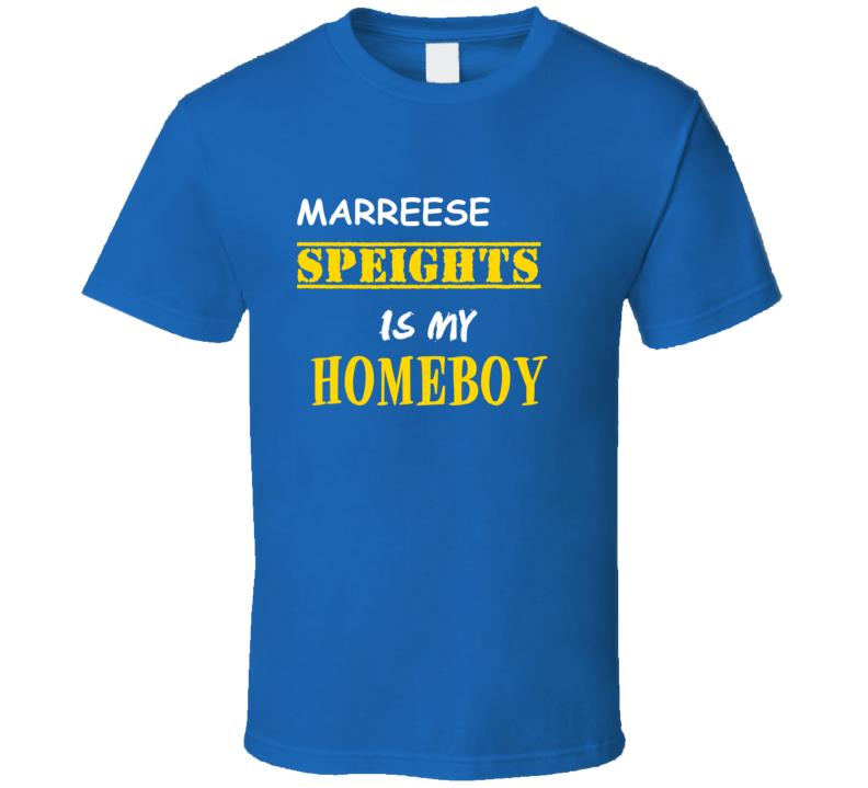 Marreese Speights Homeboy Basketball Hockey Baseball Football T Shirt