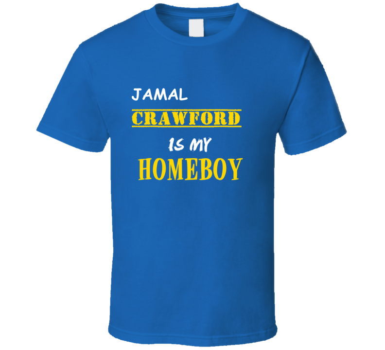 Jamal Crawford Homeboy Basketball Hockey Baseball Football T Shirt