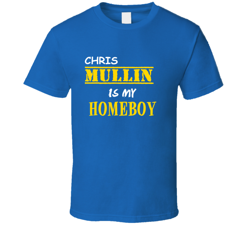 Chris Mullin Homeboy Basketball Hockey Baseball Football T Shirt