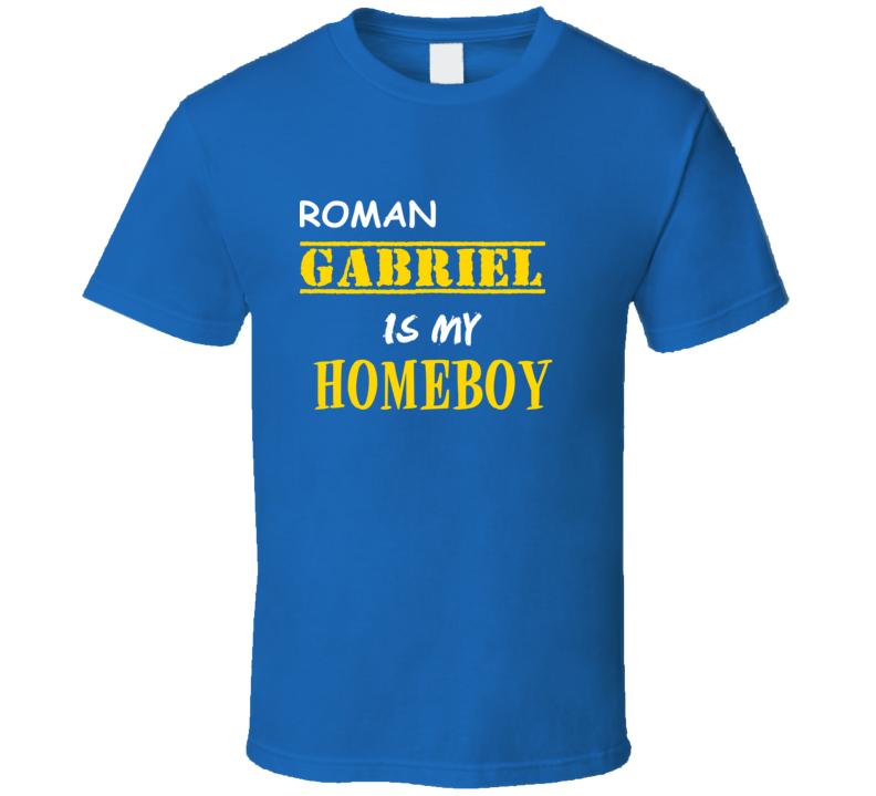 Roman Gabriel Homeboy Basketball Hockey Baseball Football T Shirt