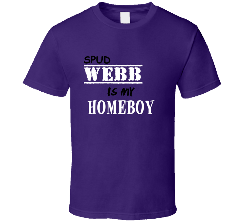 Spud Webb Homeboy Basketball Hockey Baseball Football T Shirt