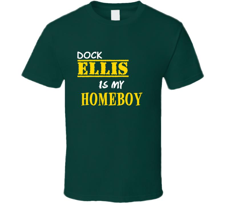 Dock Ellis Homeboy Basketball Hockey Baseball Football T Shirt