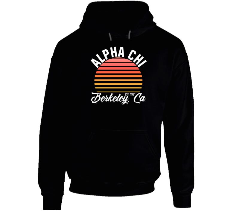 Alpha Chi Berkely California University College Sorority House Hoodie