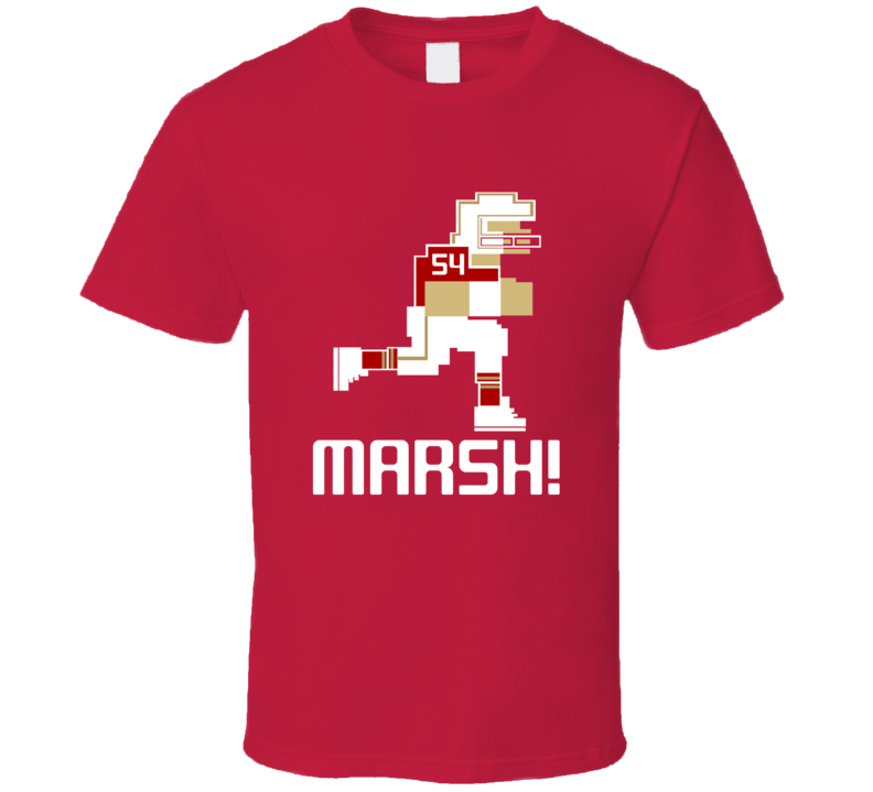 Cassius Marsh #54 Tecmo Player San Francisco Football Fan T Shirt