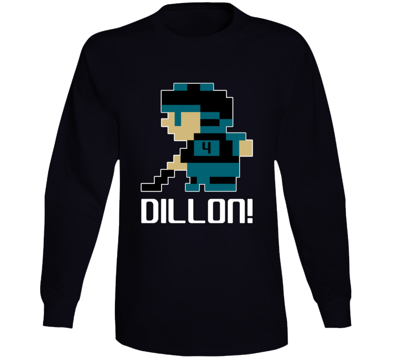 Brenden Dillon #4 Tecmo Player San Jose Hockey Fan Long Sleeve Shirt