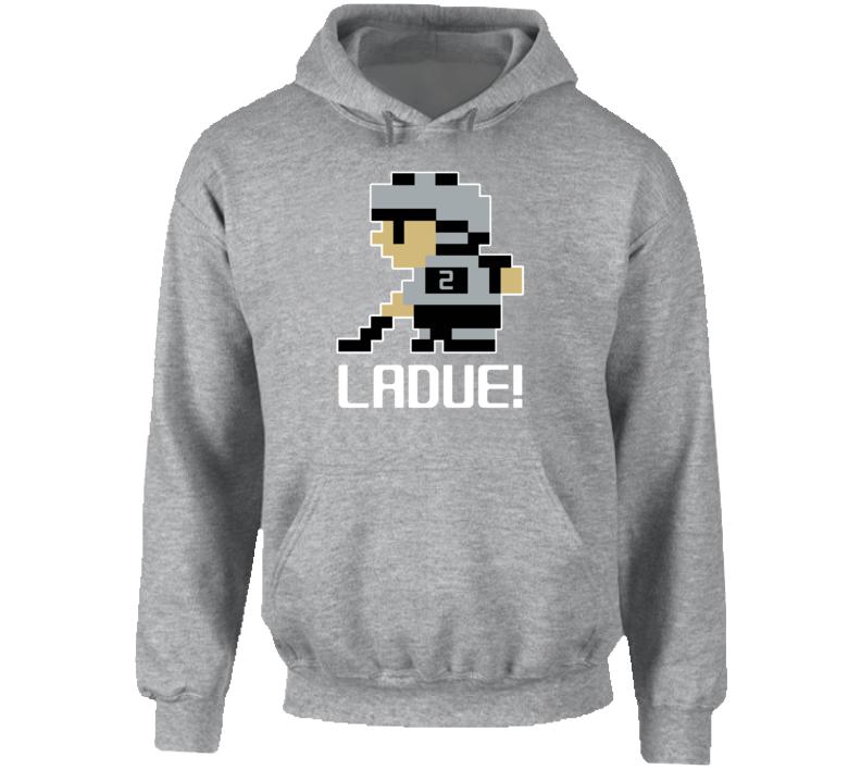 Paul Ladue #2 Tecmo Player Los Angeles Hockey Fan Hoodie