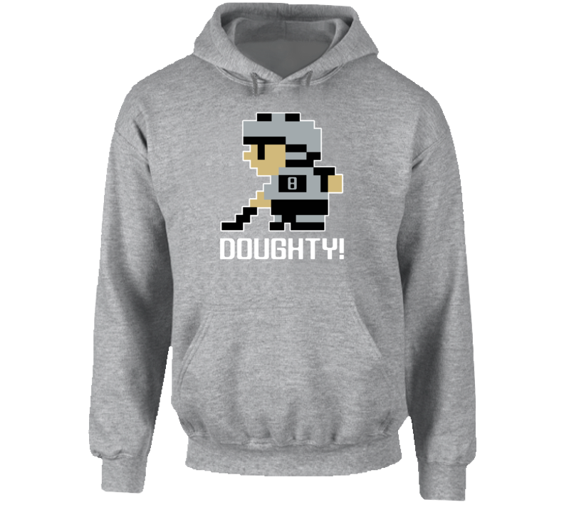 Drew Doughty #8 Tecmo Player Los Angeles Hockey Fan Hoodie