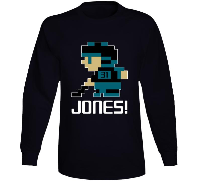 Martin Jones #31 Tecmo Player San Jose Hockey Fan Long Sleeve Shirt