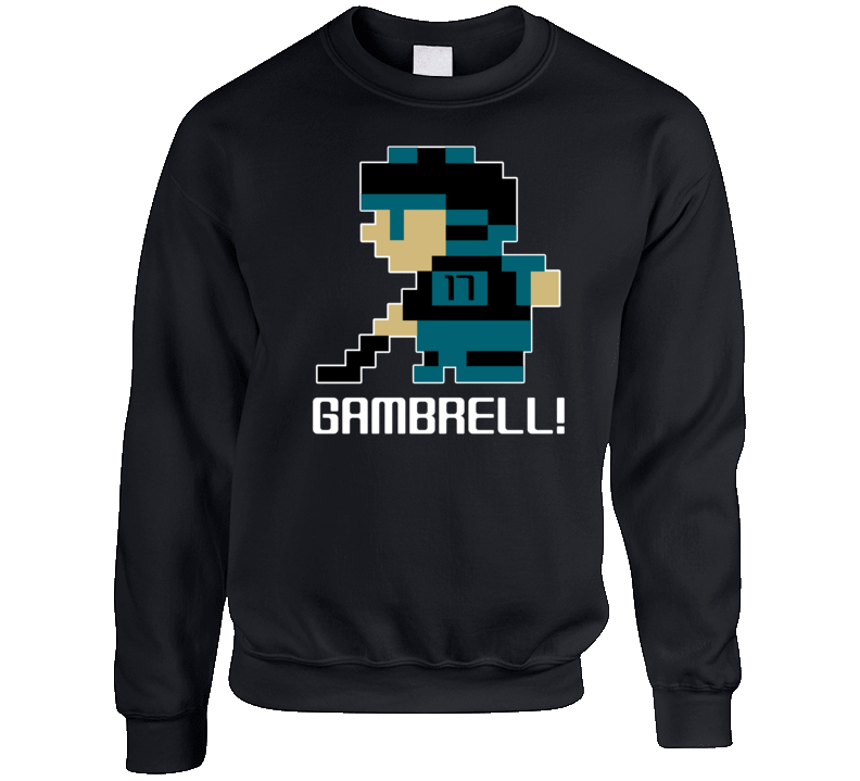 Dylan Gambrell #17 Tecmo Player San Jose Hockey Fan Crewneck Sweatshirt