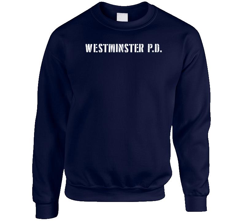 Wpd Westminster Police Dept Movie Tv Show Inspired Crewneck Sweatshirt T Shirt